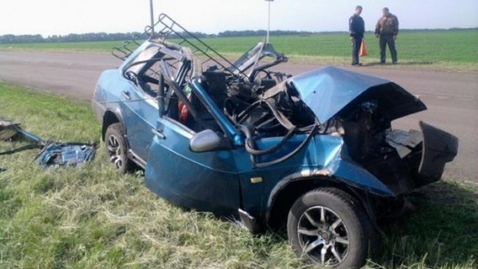 В Лискинском районе в ДТП погибли водители двух автомобилей