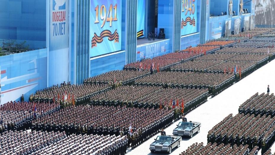 В Параде Победы в Москве приняли участие 16 тыс военных