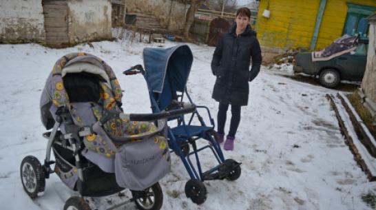 Многодетной матери из Воробьевского района, воспитывающей ребенка с ДЦП, оказали помощь