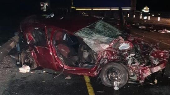 Авария на трассе М-4 в Воронежской области унесла жизни 2 орловчан