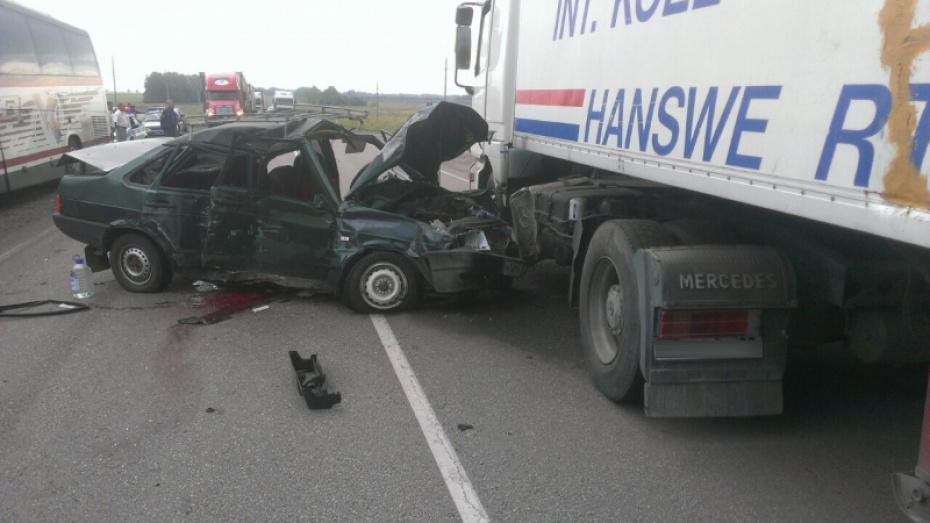 Двойное ДТП вВоронежской области: один человек умер