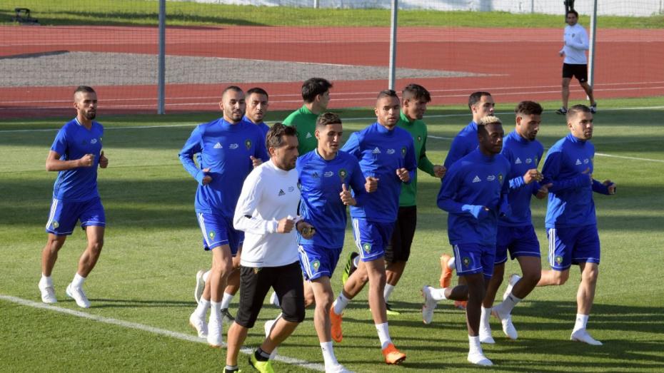 Фото первой тренировки сборной Марокко по футболу в Воронеже выложили в интернет