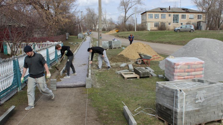 В ольховатской слободе Новохарьковка построят тротуар за 1,9 млн рублей