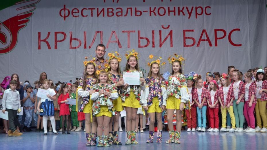 Борисоглебские танцоры и вокалисты победили в международном конкурсе «Крылатый барс»