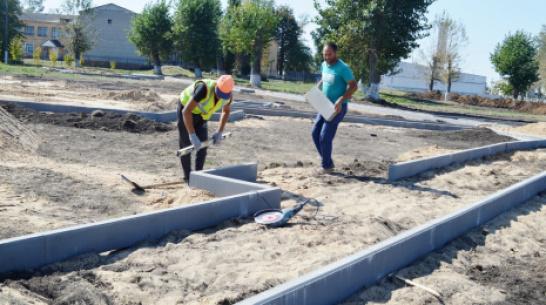 В репьевском селе Новосолдатка построят парк с летней сценой