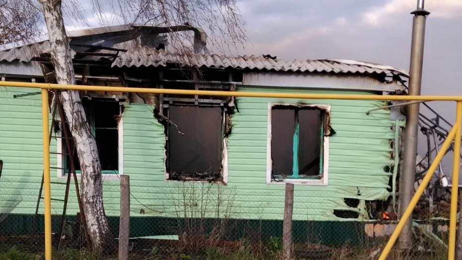 В Богучарском районе пострадавшие из-за пожара сельчане попросили о помощи