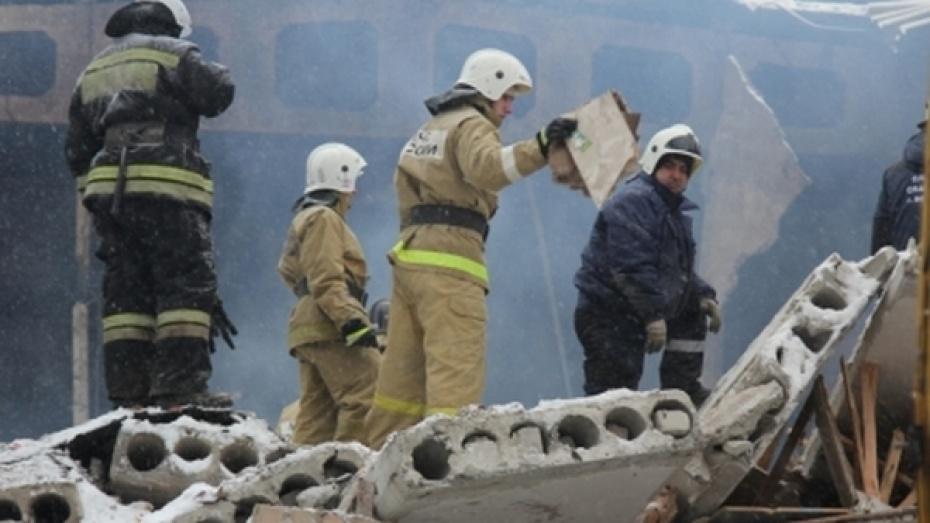 Впожаре вбане Воронежа пострадала женщина
