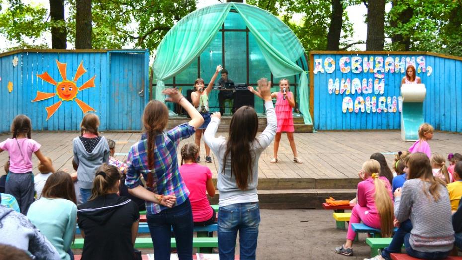 В Семилукском районе объявили конкурс по благоустройству лагеря «Ландыш»