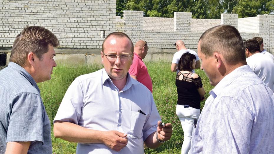В Грибановском районе возобновят строительство школы-детсада на 920 мест