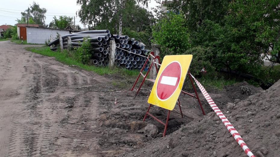 В Россоши отремонтируют аварийную канализацию на площади Октябрьской