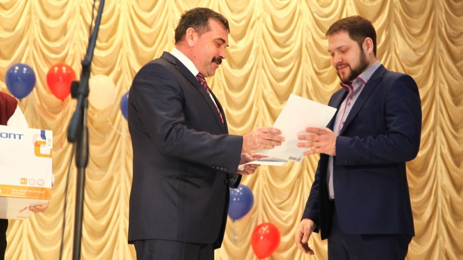 В Острогожском районе выбрали учителя года-2015