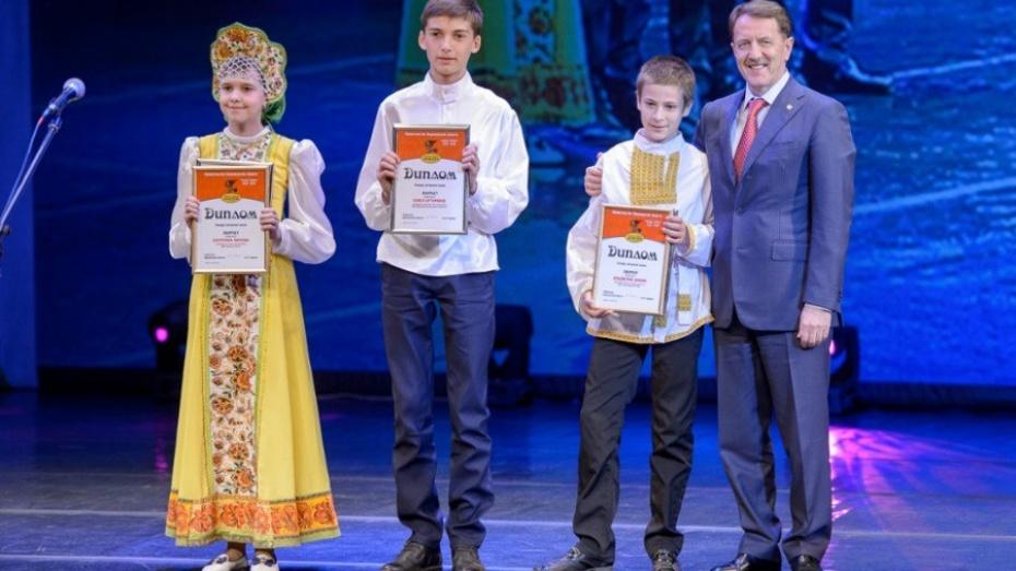 Одаренные дети получили награды воронежского фестиваля «Старая, старая сказка»
