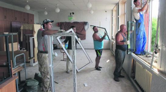 В Таловском районе до начала учебного года отремонтируют 21 школу