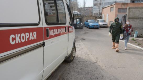 В Воронеже вспышку коронавируса выявили на 2 подстанциях скорой помощи
