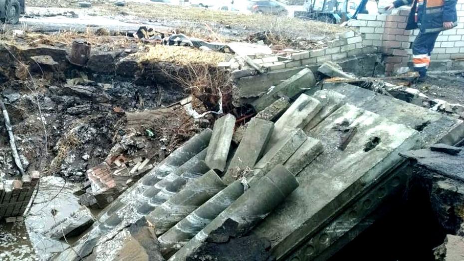 В Воронеже снесут незаконные постройки над водоводами после ЧП на Антонова-Овсеенко
