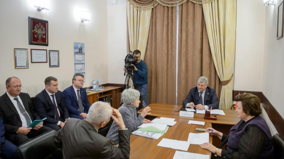 Жители Воронежской области поделились своими проблемами с губернатором