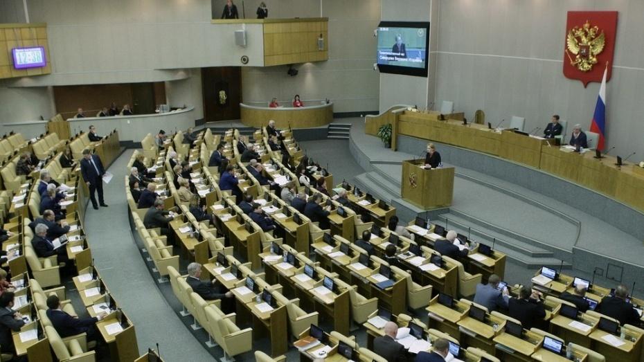 Воронежские депутаты Госдумы в 2016 году заработали 191 млн рублей