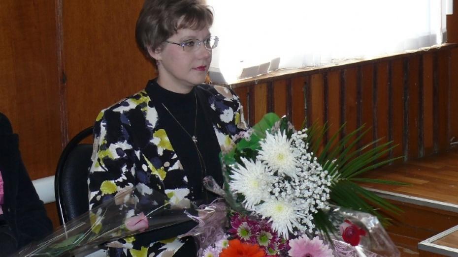 В Грибановском районе «Учителем года 2013» стала Зоя Ларина