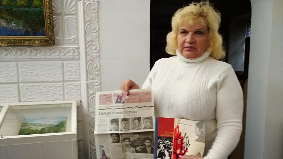 В Павловске попросили откликнуться родственников погибших в годы ВОВ подростков