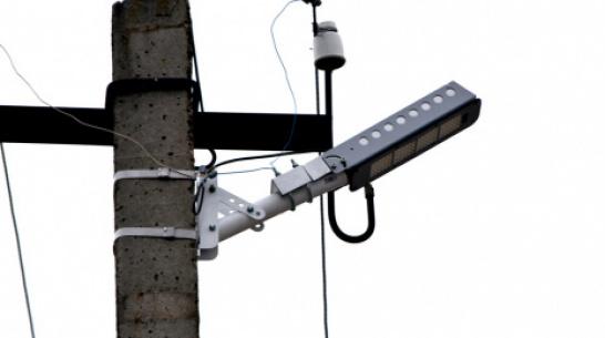 В калачеевском селе Новая Криуша на замену уличных фонарей потратили более 2,3 млн рублей