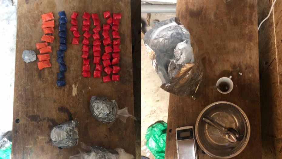В Воронеже полицейские задержали продававшую наркотики семейную пару