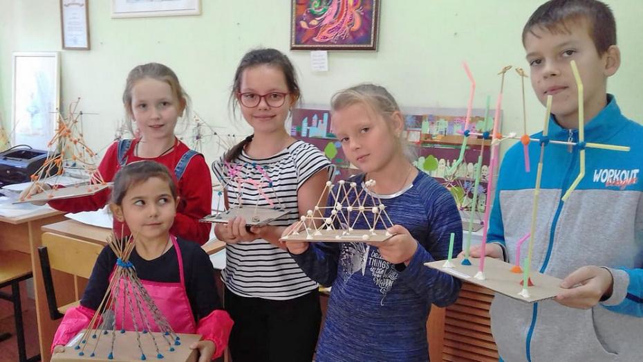 В Лисках открылась детская архитектурная мастерская