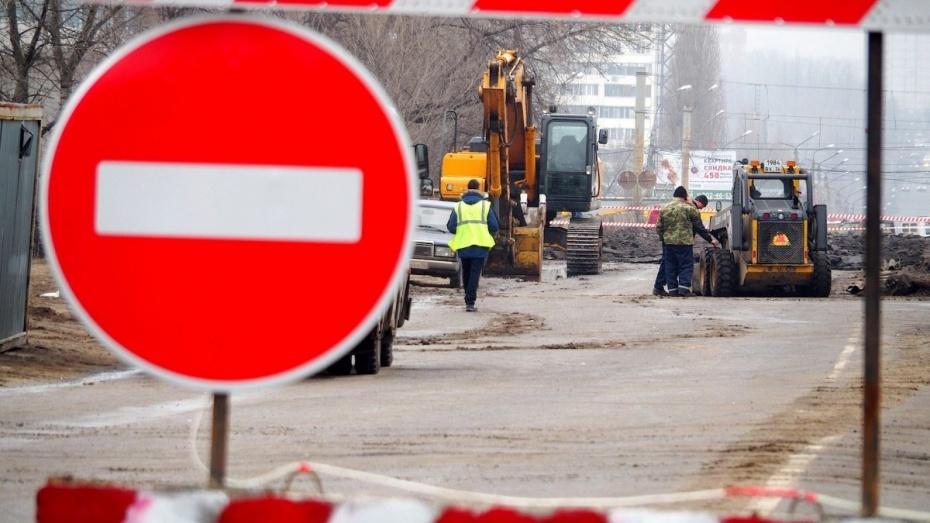 Реконструкция развязки на 9 Января в Воронеже полностью завершится к 20 октября