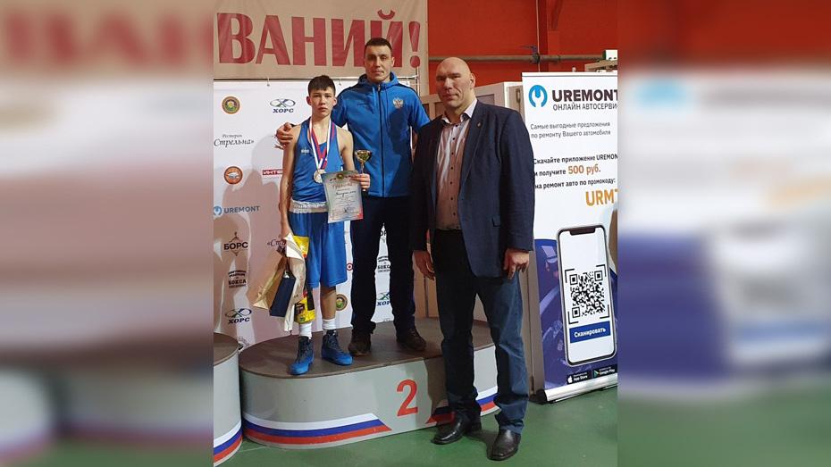 Богучарский боксер завоевал «серебро» международного турнира