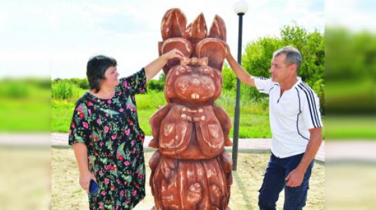 В Воронежской области установили памятник крысе