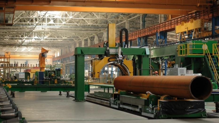 Производство высокопрочных труб большого диаметра начали вЛисках