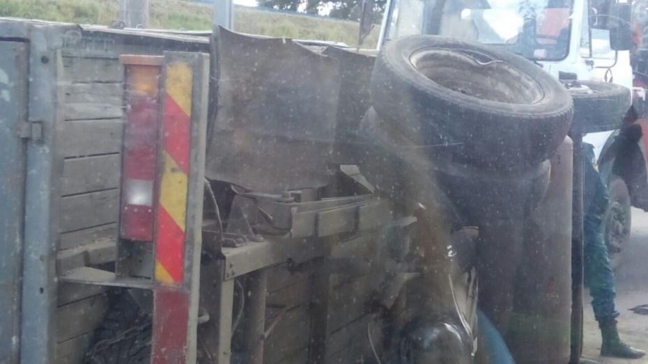 ВВоронеже ДТП с Ауди игрузовой «Газелью» попало навидео