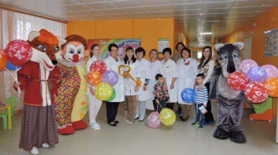 В Кантемировке капитально отремонтировали детскую поликлинику