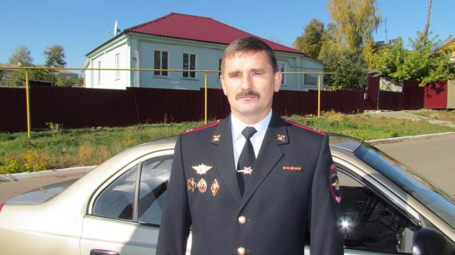 Нижнедевицкий начальник угрозыска получил звание «Лучший»