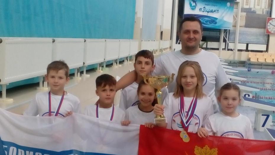 Борисоглебские пловцы выиграли 6 золотых медалей на Открытом Кубке в Санкт-Петербурге