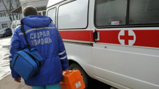 В Кантемировском районе столкнулись такси и УАЗ