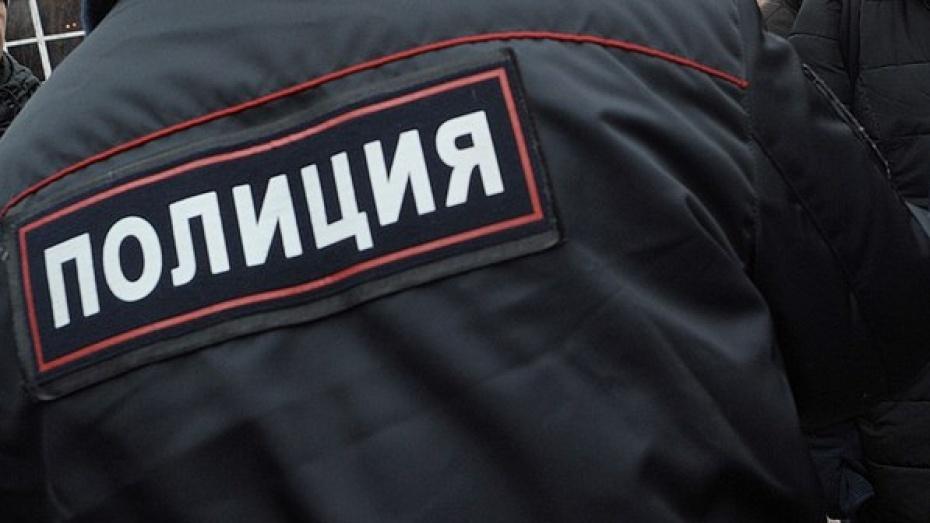Воронежец ограбил прохожего на400 руб., однако был фактически сразу пойман полицейскими