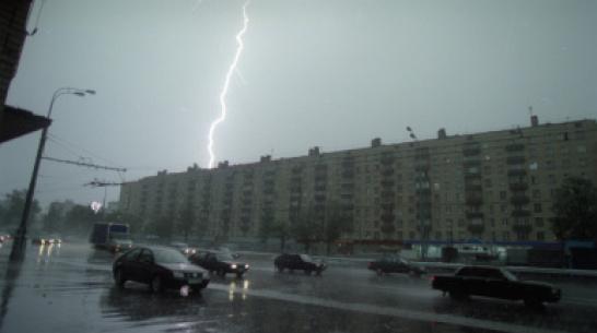 Штормовой ветер, град и гроза пронесутся над Воронежем 8 сентября