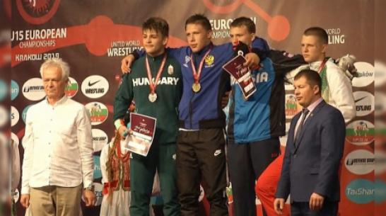 Воронежец победил в первенстве Европы по спортивной борьбе