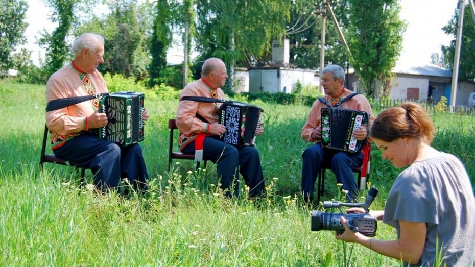 Воронежские кинематографисты сняли фильм о бутурлиновских хранителях фольклора