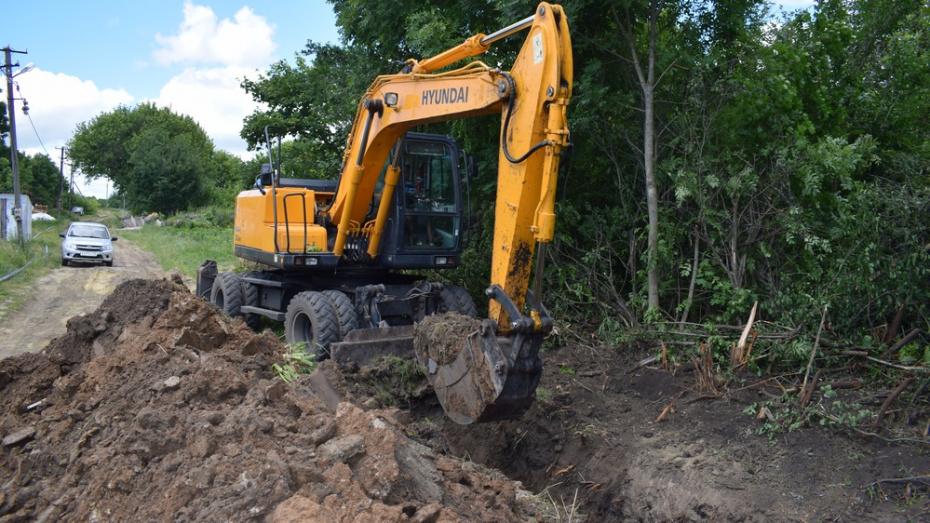В семилукском селе Перлевка на строительство водопровода потратят 112 млн рублей