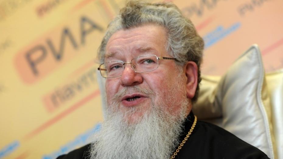 Митрополит Воронежский и Борисоглебский Сергий: «Церковь отдельно, митинги отдельно»