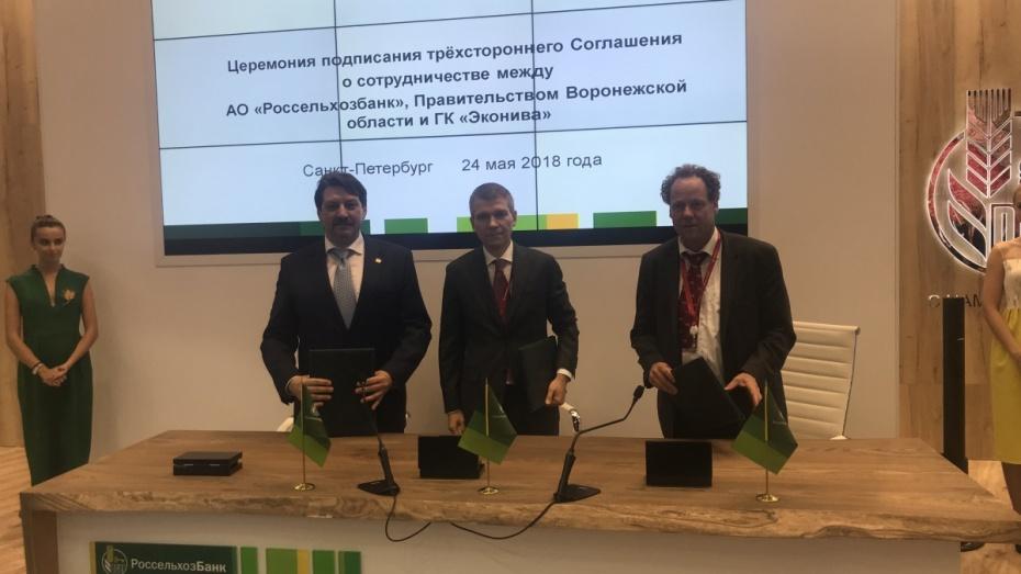 В Воронежской области построят 2 животноводческих комплекса на 5,6 тыс голов