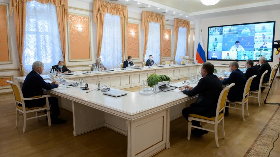 Губернатор констатировал стабилизацию ситуации с коронавирусом в Воронежской области