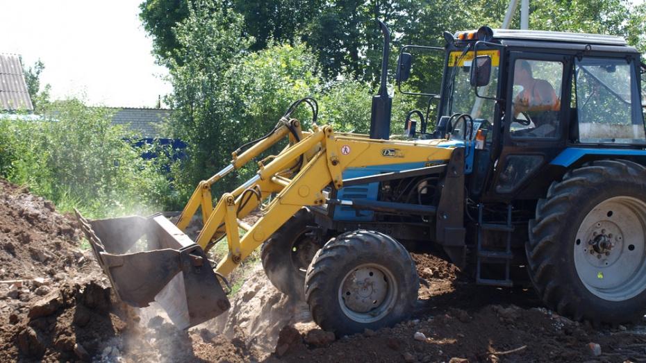 В семилукском поселке Стрелица на реконструкцию водопровода потратят 111 млн рублей