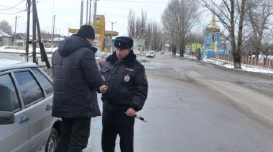 Во время «сплошных проверок» в Воронежской области выявили 45 пьяных водителей