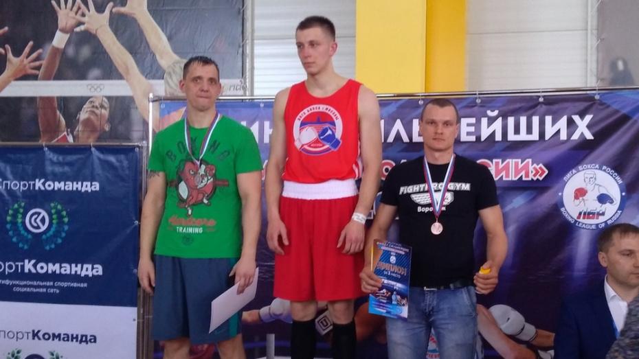 Ольховатский боксер завоевал «бронзу» на всероссийском турнире сильнейших