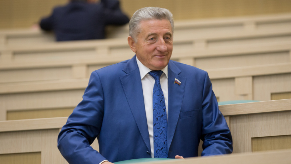 Сенатор от Воронежской области Сергей Лукин принял участие в 441 заседании Совфеда