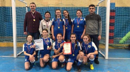 Воробьевские футболистки победили в областных соревнованиях