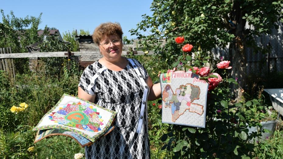 Жительница Борисоглебска предложила сшить карту области из лоскутов
