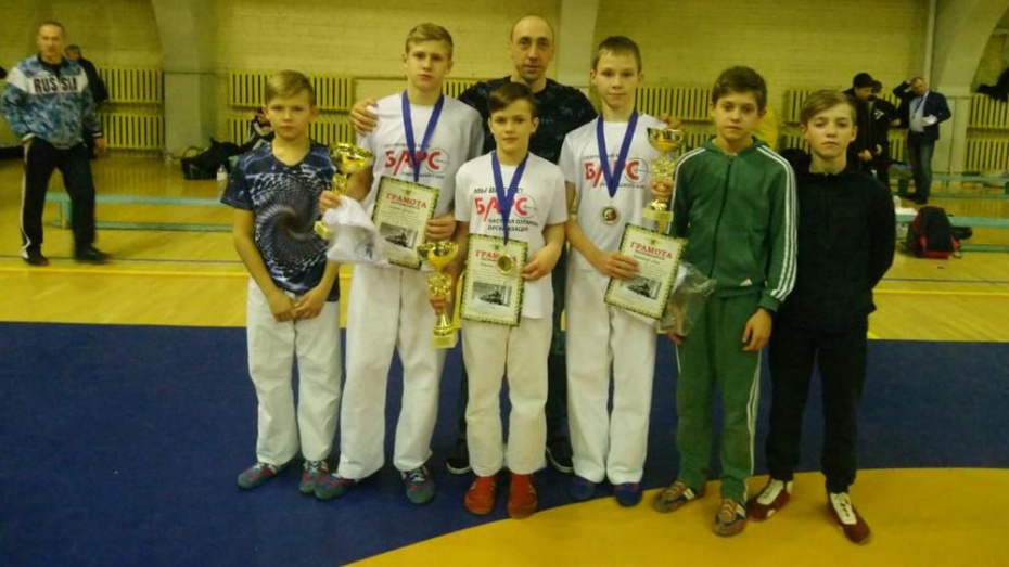 Борисоглебский спортсмен завоевал «золото» на турнире по рукопашному бою